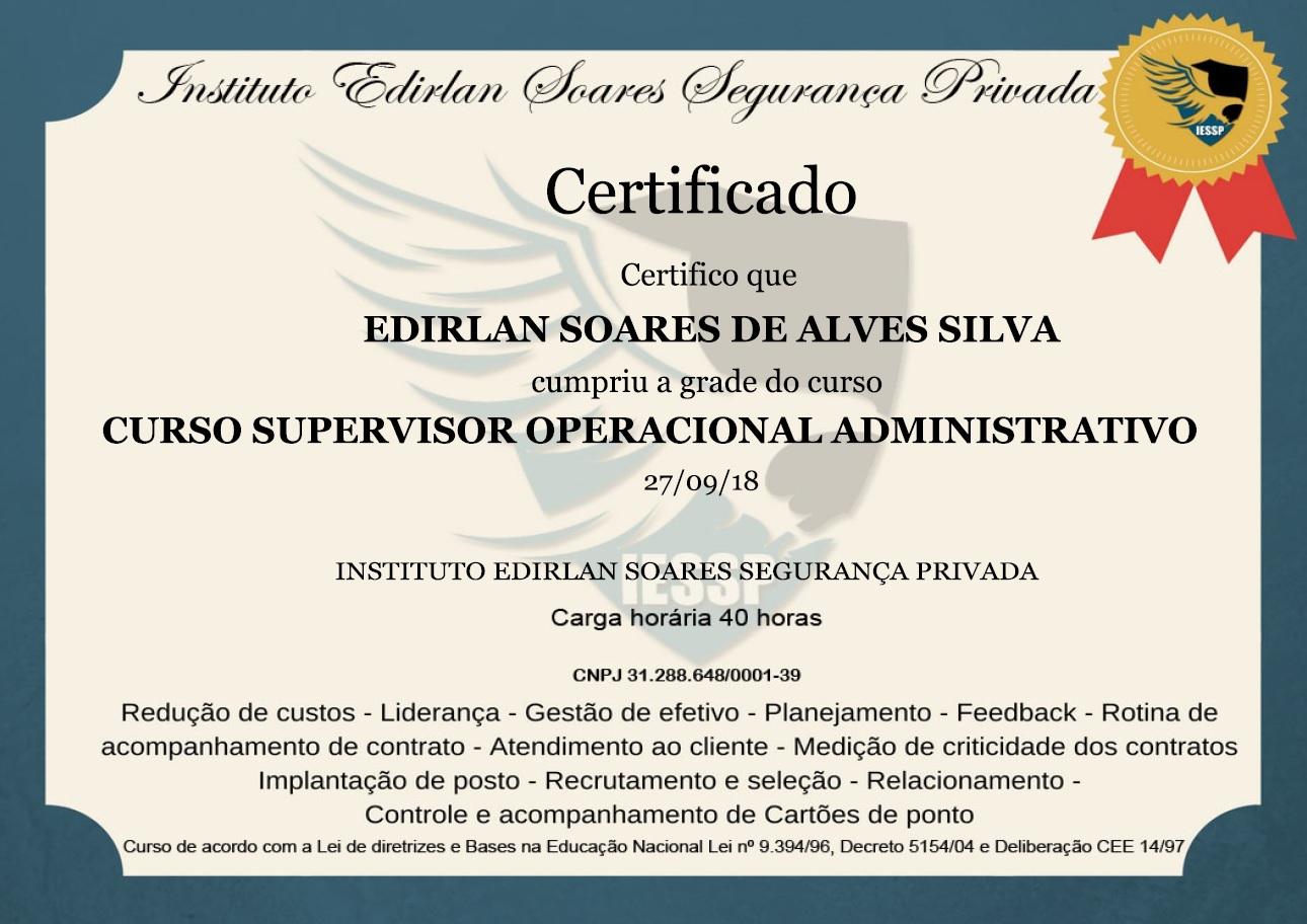 Curso com certificado aceito em todo Brasil